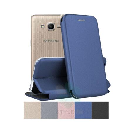 خرید کیف کلاسوری چرمی گوشی سامسونگ Samsung Galaxy J2 Prime