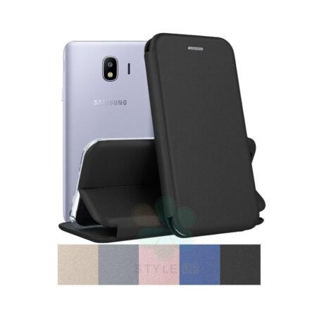 خرید کیف کلاسوری چرمی گوشی سامسونگ Samsung Galaxy J4