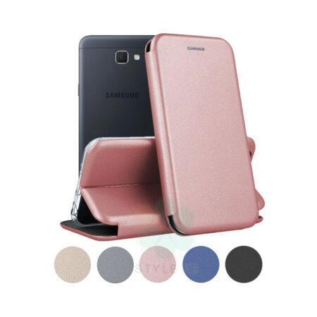 خرید کیف کلاسوری چرمی گوشی سامسونگ Samsung Galaxy J5 Prime