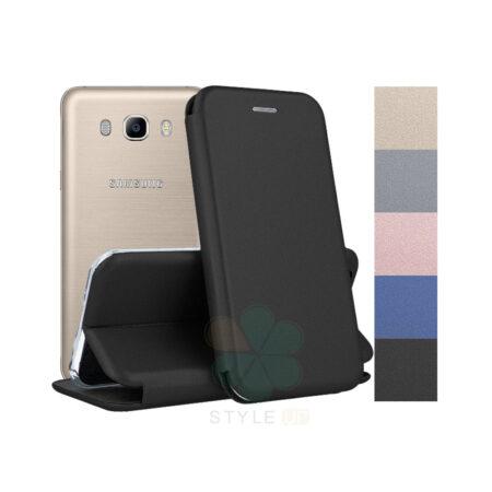 خرید کیف کلاسوری چرمی گوشی سامسونگ Samsung Galaxy J7 2016