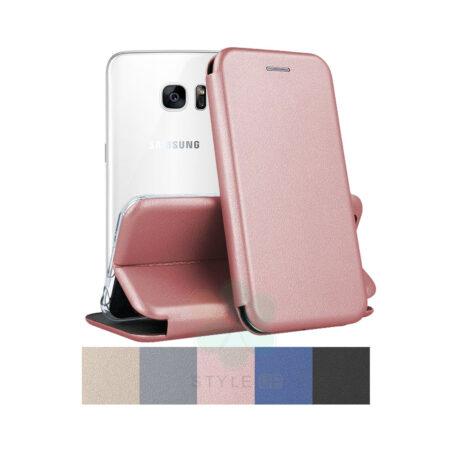 خرید کیف کلاسوری چرمی گوشی سامسونگ Samsung Galaxy S7 Edge