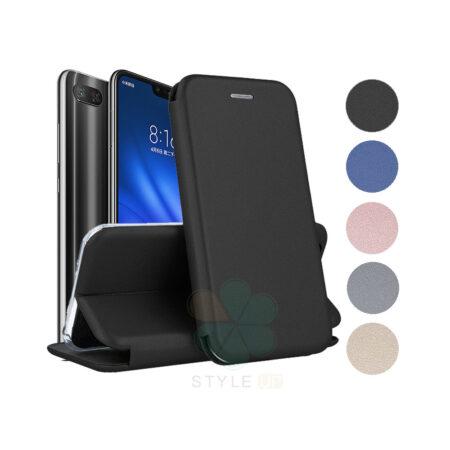 خرید کیف کلاسوری چرمی گوشی شیائومی می 8 لایت - Xiaomi Mi 8 Lite