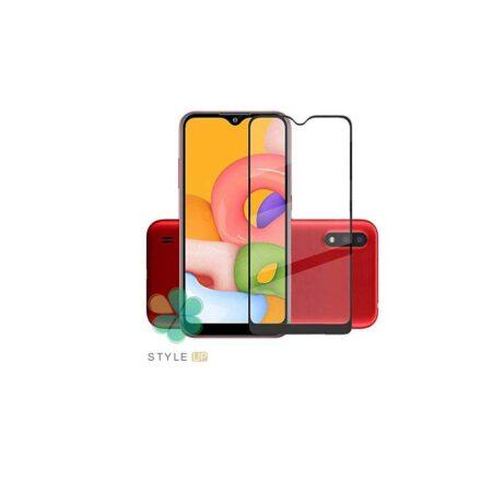 خرید گلس گوشی سامسونگ Samsung Galaxy M01 مدل تمام صفحه