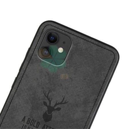 خرید قاب گوشی اپل آیفون 11 - iPhone 11 پارچه ای طرح گوزن