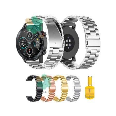 خرید بند ساعت هواوی انر Honor MagicWatch 2 46mm استیل 3Pointers