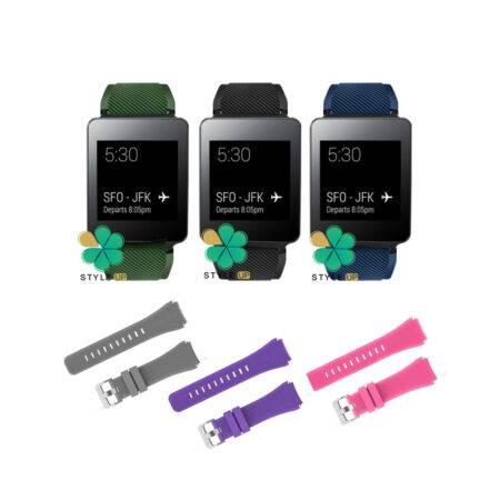 خرید بند سیلیکونی ساعت هوشمند ال جی LG G Watch W100
