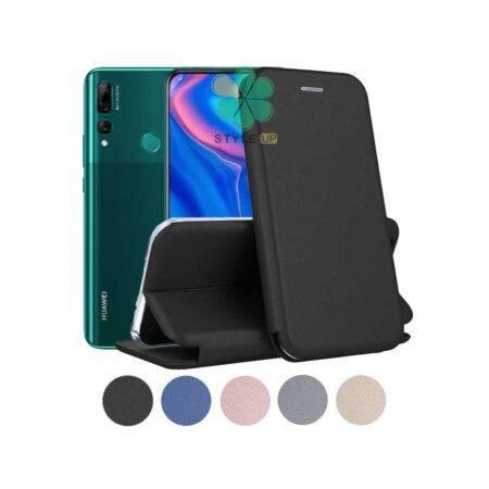 خرید کیف کلاسوری چرمی گوشی هواوی Huawei Y9 Prime 2019