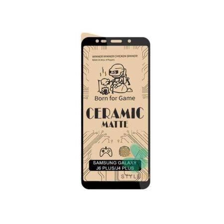 خرید گلس سرامیکی مات گوشی سامسونگ Samsung Galaxy J4 Plus