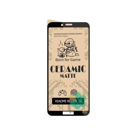 خرید گلس سرامیکی مات گوشی شیائومی Xiaomi Redmi 7A