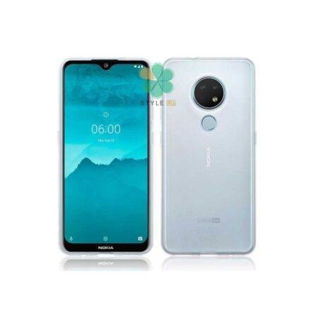 خرید قاب گوشی نوکیا 6.2 - Nokia 6.2 مدل ژله ای شفاف