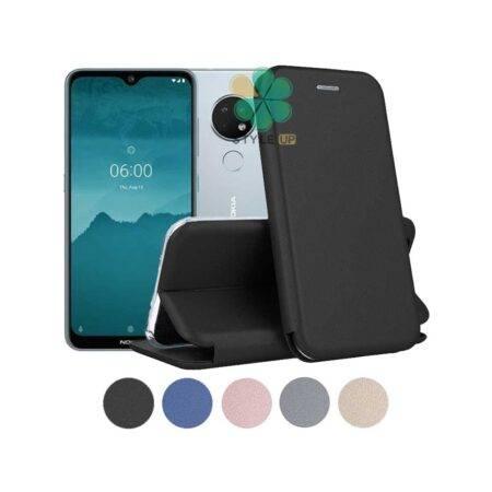 خرید کیف کلاسوری چرمی گوشی نوکیا 6.2 - Nokia 6.2
