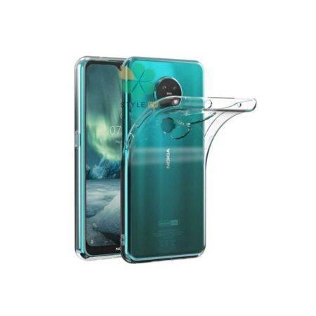 خرید قاب گوشی نوکیا 7.2 - Nokia 7.2 مدل ژله ای شفاف