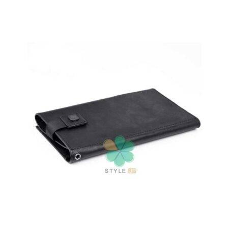 خرید کیف چرمی پول و گوشی موبایل لاکچری مدل Puloka سایز 6.8 اینچ
