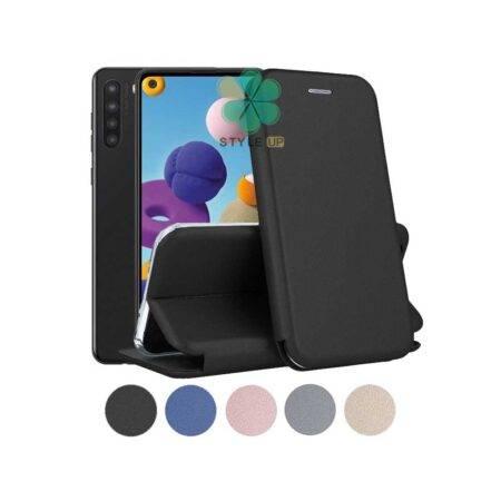 خرید کیف کلاسوری چرمی گوشی سامسونگ Samsung Galaxy A21