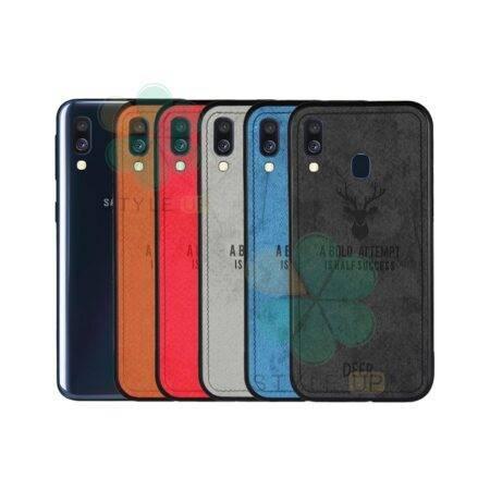 خرید قاب گوشی سامسونگ Samsung Galaxy A40 پارچه ای طرح گوزن