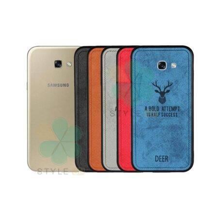 خرید قاب گوشی سامسونگ Samsung Galaxy A7 2017 پارچه ای طرح گوزن