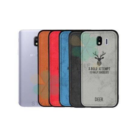 خرید قاب گوشی سامسونگ Samsung Galaxy J4 پارچه ای طرح گوزن