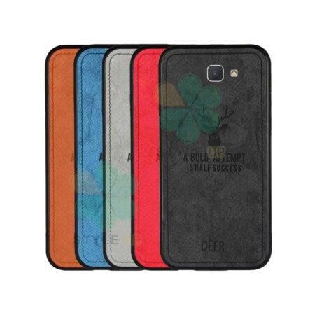 خرید قاب گوشی سامسونگ Galaxy J5 Prime پارچه ای طرح گوزن