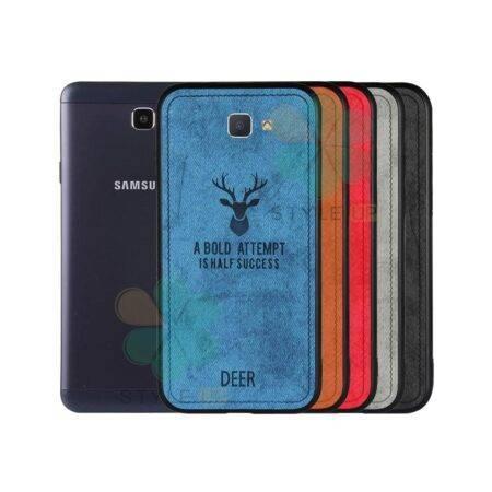 خرید قاب گوشی سامسونگ Galaxy J7 Prime پارچه ای طرح گوزن