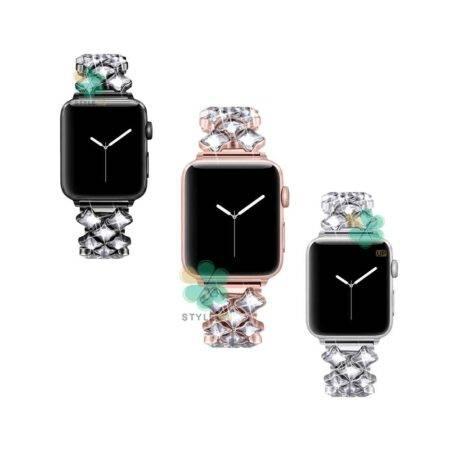 خرید بند استیل ساعت اپل واچ Apple Watch 38/40mm مدل Secbolt Jewerly