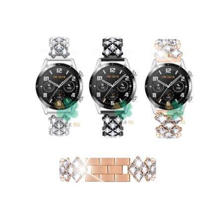 خرید بند استیل ساعت هواوی واچ Huawei Watch GT 2 46mm مدل Secbolt Jewerly
