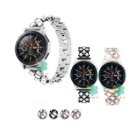 خرید بند استیل ساعت سامسونگ Galaxy Watch 46mm مدل Secbolt Jewerly