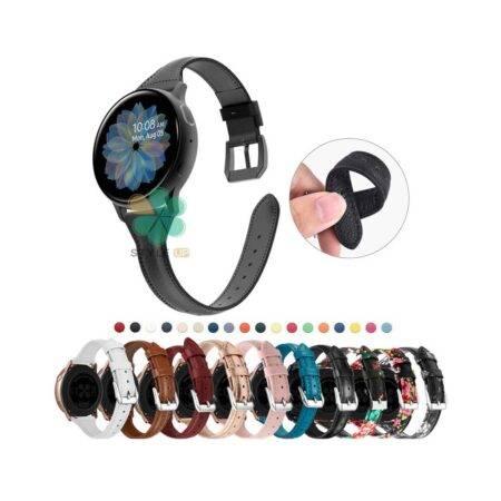 خرید بند چرمی ساعت سامسونگ Samsung Galaxy Watch Active 2 مدل باریک