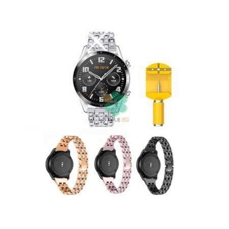 خرید بند استیل ساعت هواوی واچ Huawei Watch GT 2 46mm مدل Wearlizer