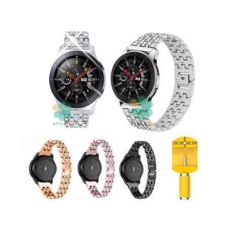 خرید بند استیل ساعت سامسونگ Galaxy Watch 46mm مدل Wealizer
