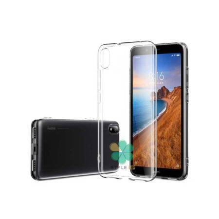 خرید قاب گوشی شیائومی Xiaomi Redmi 7A مدل ژله ای شفاف
