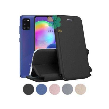 خرید کیف کلاسوری چرمی گوشی سامسونگ Samsung Galaxy A31