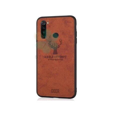 خرید قاب گوشی شیائومی Xiaomi Redmi Note 8 پارچه ای طرح گوزن