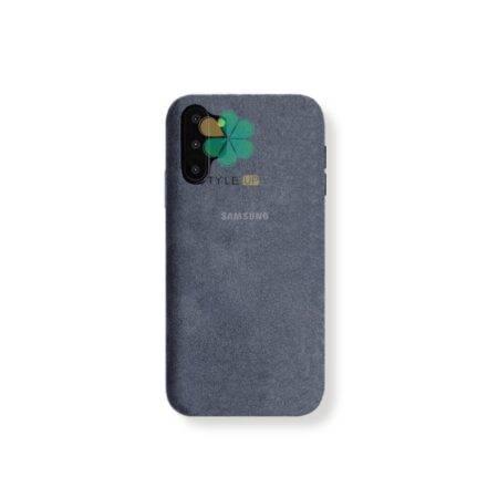 خرید قاب Alcantara گوشی سامسونگ Samsung Galaxy Note 10 Plus مدل مخملی