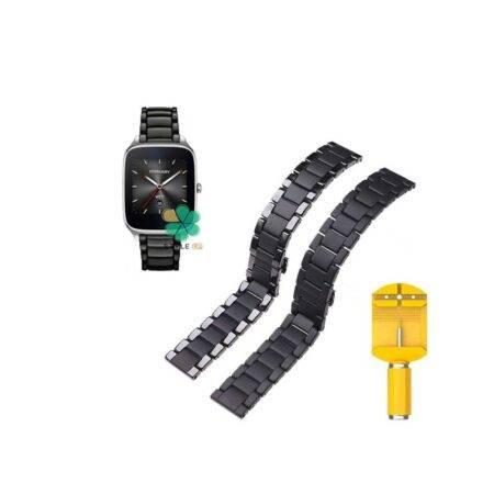 خرید بند فلزی ساعت ایسوس Asus Zenwatch 2 Wi501Q مدل 3Bead Carbon