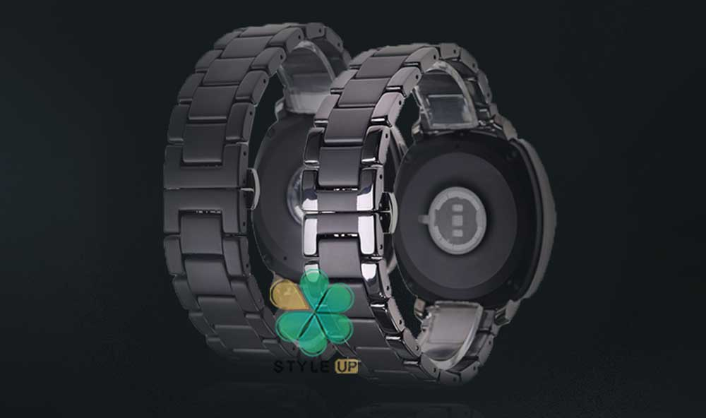 خرید بند فلزی ساعت هواوی Huawei Watch GT 2 46mm مدل 3Bead Carbon