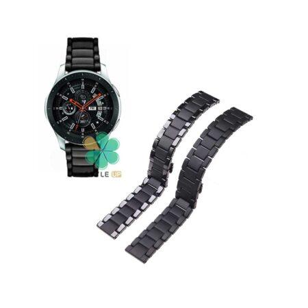 خرید بند فلزی ساعت سامسونگ Galaxy Watch 46mm مدل 3Bead Carbon