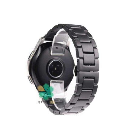 خرید بند فلزی ساعت شیائومی Amazfit GTR 47mm مدل 3Bead Carbon