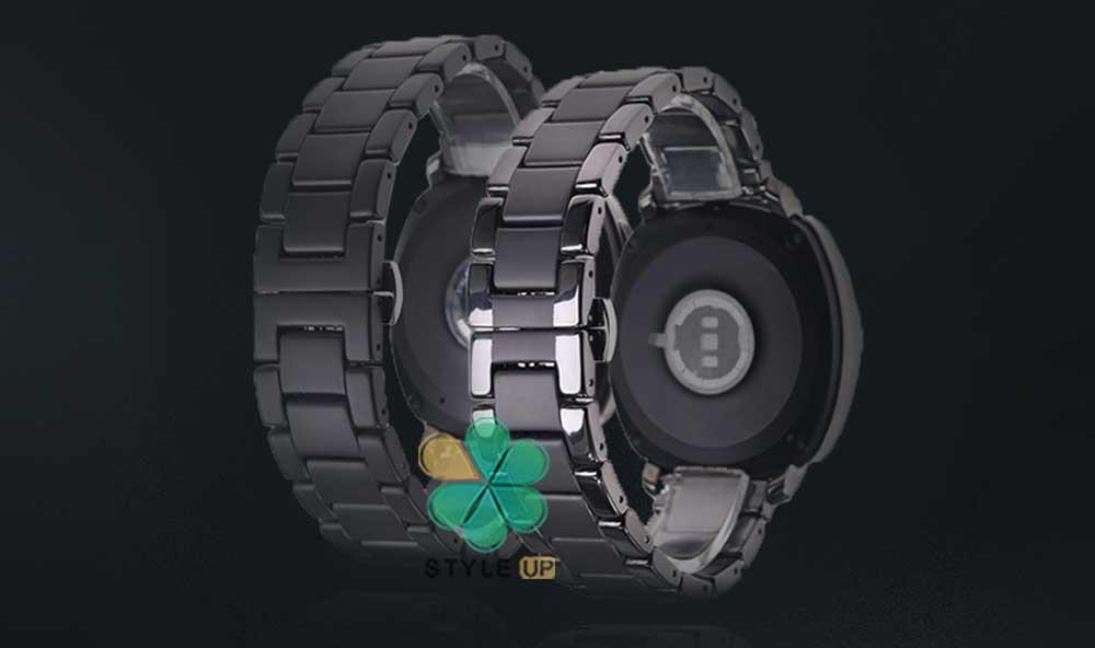 خرید بند فلزی ساعت شیائومی Xiaomi Amazfit Stratos مدل 3Bead Carbon