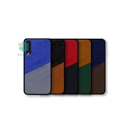 خرید قاب چرمی گوشی سامسونگ Samsung Galaxy A50 مدل Fendi Roma