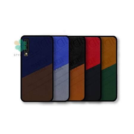 خرید خرید قاب چرمی گوشی سامسونگ Galaxy A30s / A50s مدل Fendi Roma