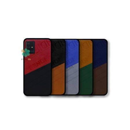 خرید قاب چرمی گوشی سامسونگ Samsung Galaxy A51 مدل Fendi Roma