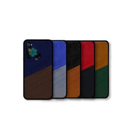 خرید قاب چرمی گوشی شیائومی Redmi Note 8 مدل Fendi Roma