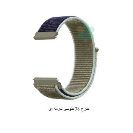 خرید بند ساعت هواوی Huawei Watch GT 2 42mm مدل نایلون لوپ