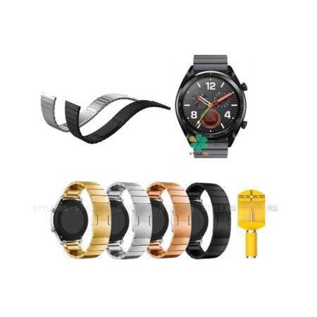خرید بند فلزی ساعت هواوی Huawei Watch GT مدل Link Bracelet