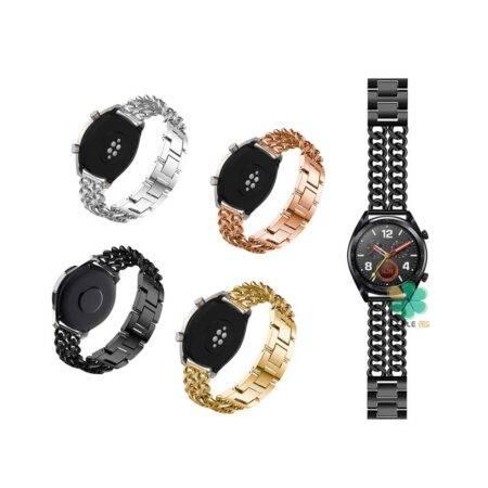 خرید بند ساعت هوشمند هواوی Huawei Watch GT مدل استیل زنجیری