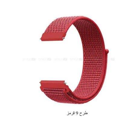 خرید بند ساعت موتورولا Moto 360 2nd 42mm مدل نایلون لوپ