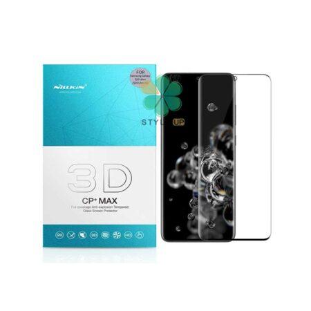 خرید گلس 3D نیلکین گوشی سامسونگ Galaxy S20 Ultra / 5G مدل CP+ Max