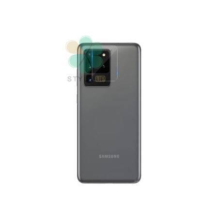 خرید گلس لنز دوربین نیلکین گوشی سامسونگ Galaxy S20 Ultra مدل Invisifilm