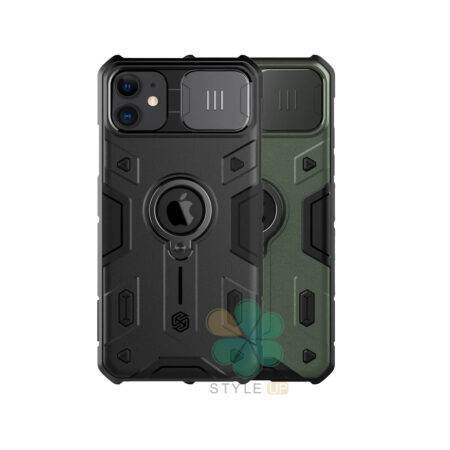 خرید قاب محافظ نیلکین گوشی آیفون iPhone 11 مدل CamShield Armor