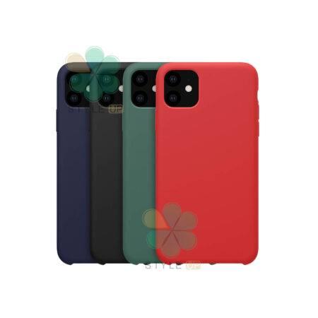 خرید قاب سیلیکونی نیلکین گوشی آیفون iPhone 11 مدل Flex Pure